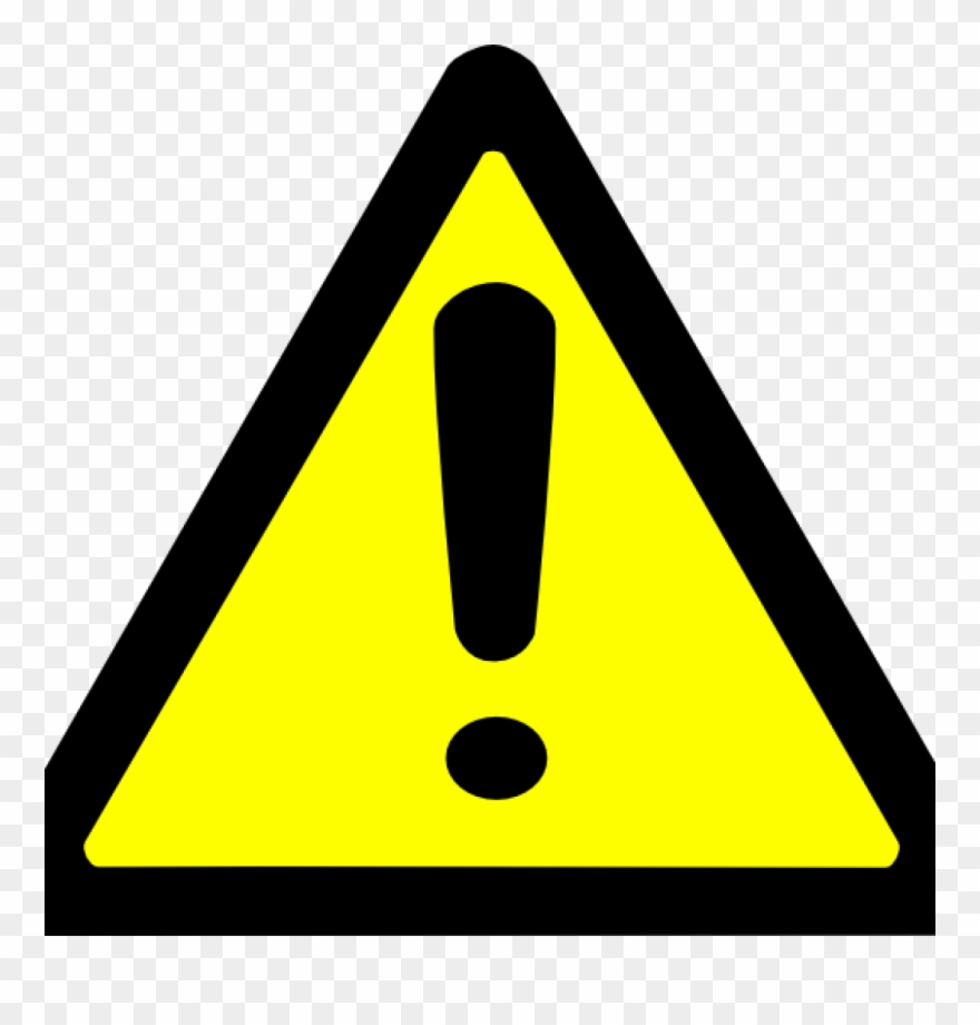 Warning traffic sign clipart graphic freeuse library Warning Sign Clipart Warning Sign Clip Art At Clker - Yellow ... graphic freeuse library