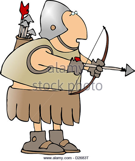 Warrior arrow clipart images jpg transparent download Warrior Bow Arrow Stock Photos & Warrior Bow Arrow Stock Images ... jpg transparent download
