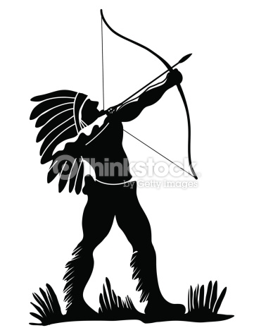 Warrior arrow clipart images image royalty free library Indian Warrior Vector Art | Thinkstock image royalty free library