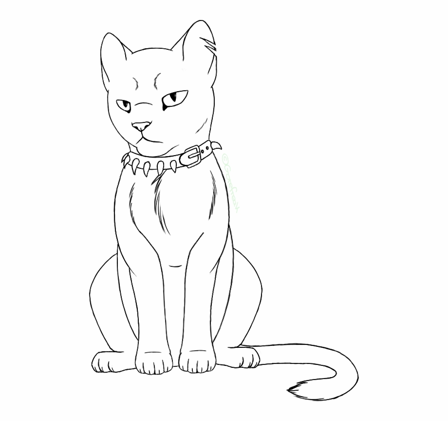 Warrior cats clipart image library Warrior Cats / Warriors - Line Art Free PNG Images & Clipart ... image library