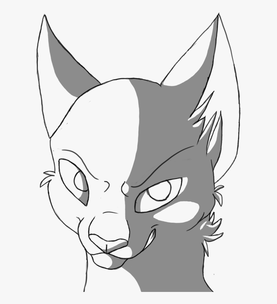 Warrior face clipart jpg library stock Great 14 Cliparts For Free - Warrior Cat Face Drawings ... jpg library stock