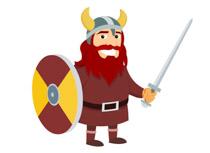 Viking warrior shield clipart free Viking Warrior With Shield And Sword Clipart » Clipart Station free