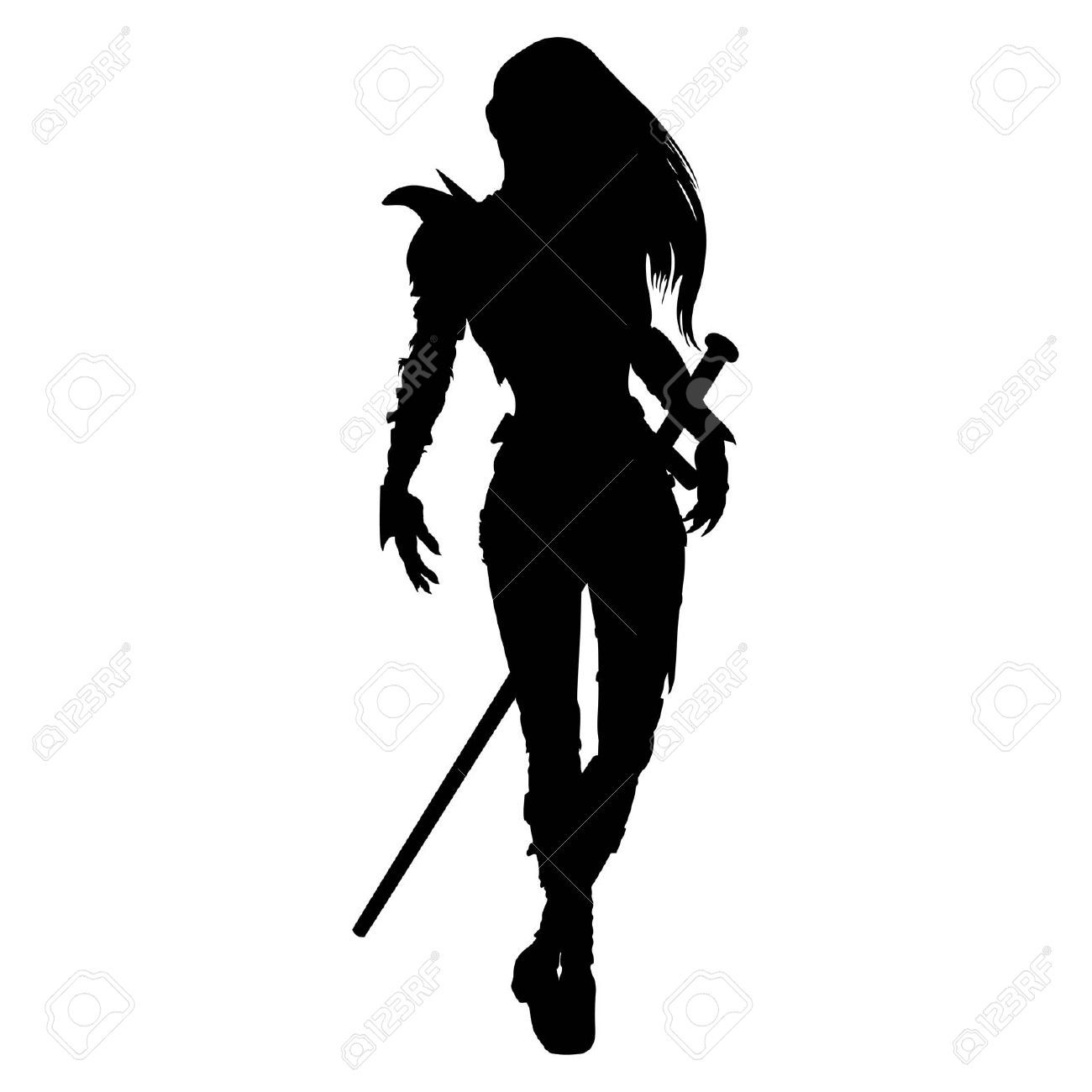 Warrior post clipart picture stock Warrior Cliparts, Stock Vector And Royalty Free Warrior ... picture stock