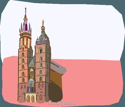 Warsaw poland clipart