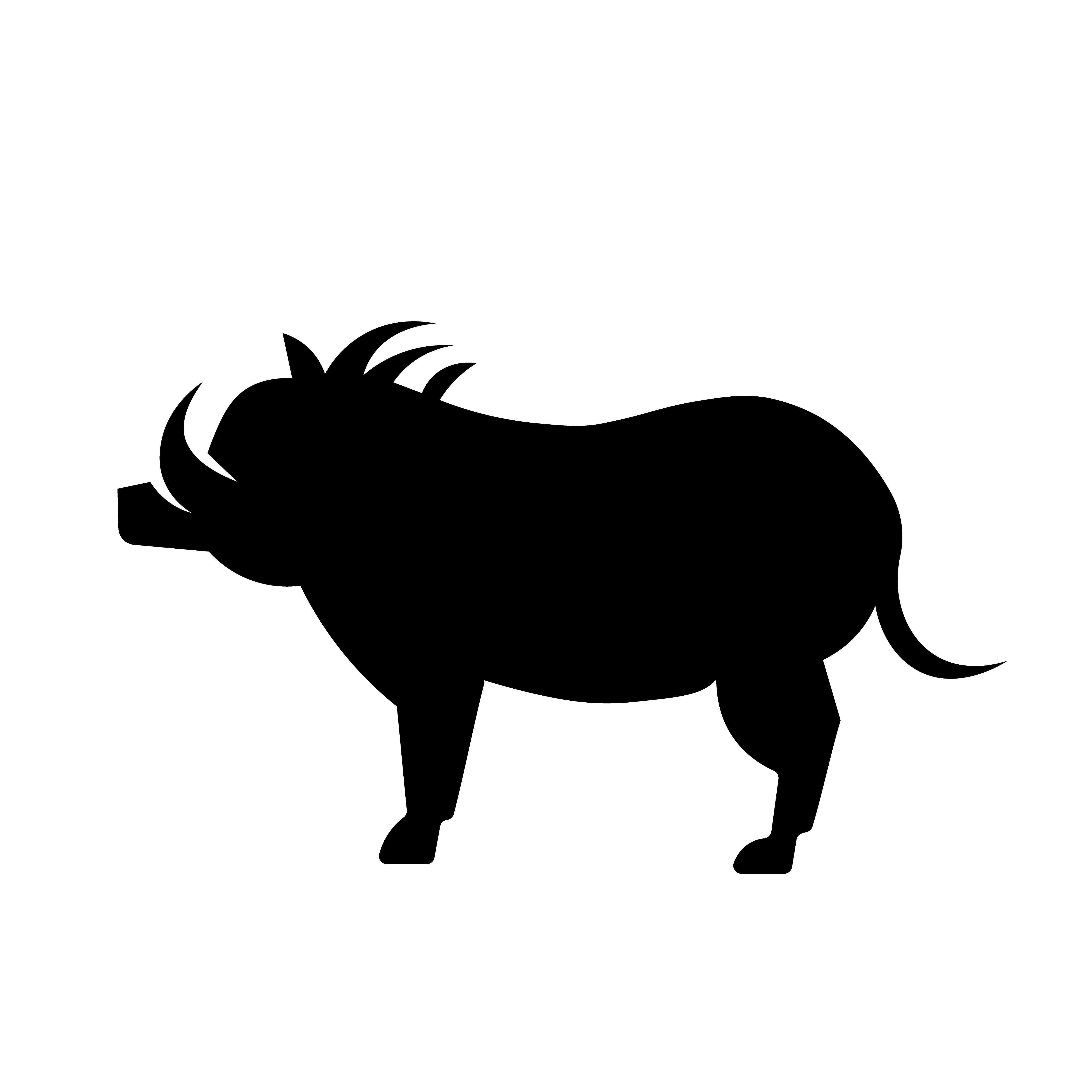 Warthog face clipart jpg transparent download Warthog Free Vector Art - (1,691 Free Downloads) jpg transparent download