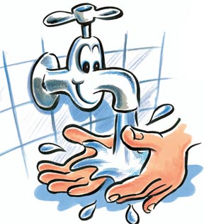 Turn on the water and wet hands clipart jpg freeuse stock Free Washing Hands Cliparts, Download Free Clip Art, Free ... jpg freeuse stock