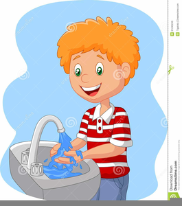 Wash hands clipart free image black and white download Washing Hand Clipart | Free Images at Clker.com - vector ... image black and white download
