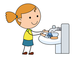 Wash hands clipart png clip art free stock Washing Hands Clipart PNG Transparent - AZPng clip art free stock