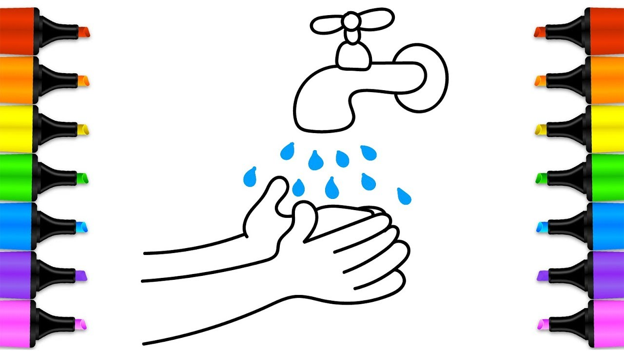 Wash hands clipart stylized svg freeuse stock Hand Art Drawing | Free download best Hand Art Drawing on ... svg freeuse stock