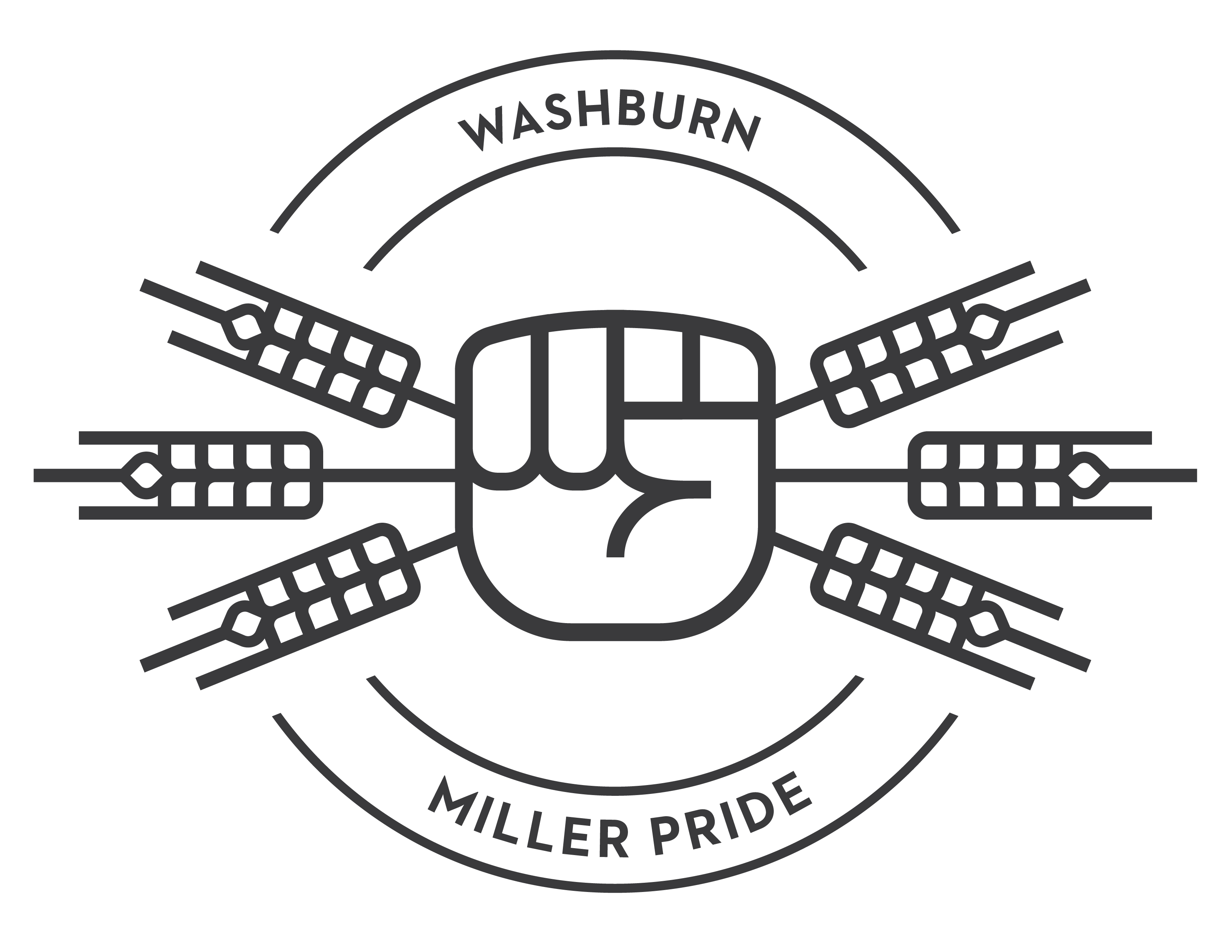 Washburn millers clipart svg black and white Washburn Logos svg black and white