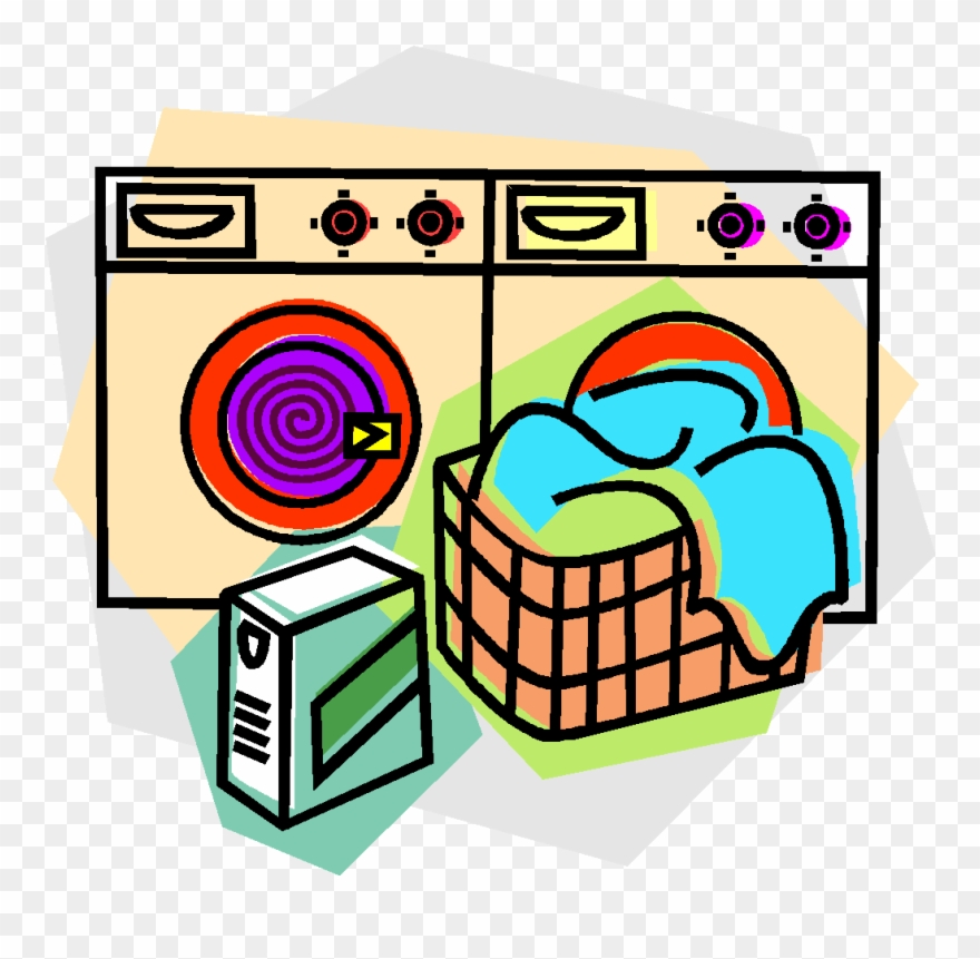 Washer and dryer clipart banner Image Royalty Free Library Washing Machine And Dryer - Clip ... banner