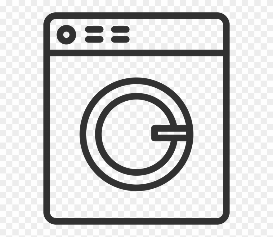 Washing machine clipart png picture black and white Download Laundry White Png Clipart Washing Machines ... picture black and white