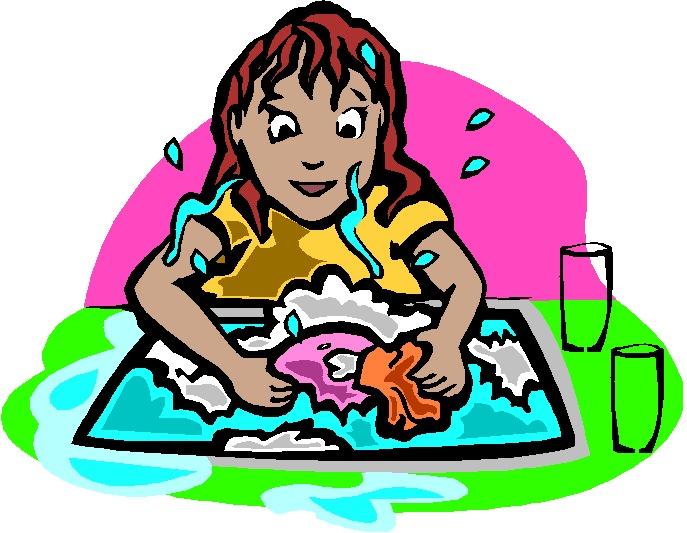 Washing clipart image freeuse stock Washing up Clip Art image freeuse stock