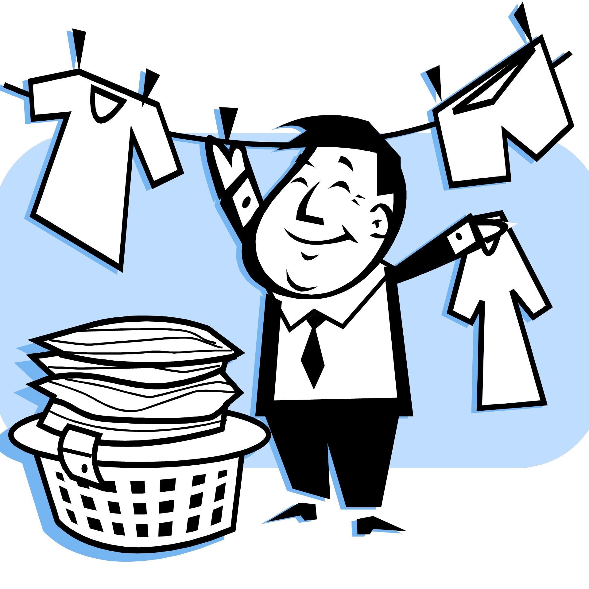 Washing clipart graphic library download Clip Art Clean Laundry Clipart - Clipart Kid graphic library download