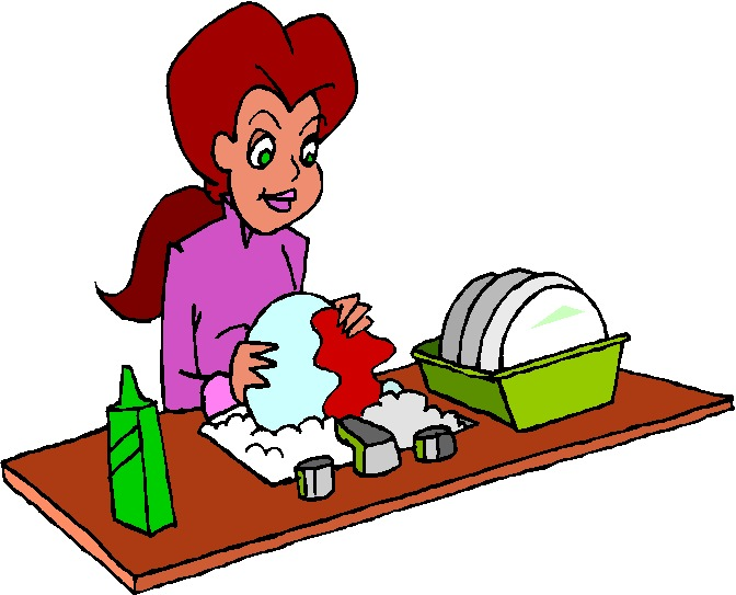 Washing clipart banner free library Washing up Clip Art banner free library