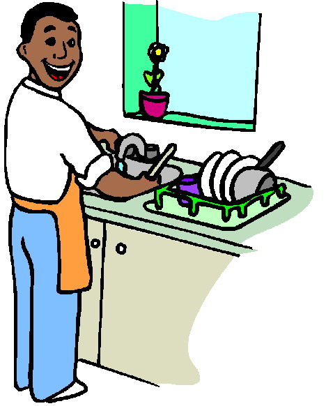 Washing clipart graphic transparent library Washing up Clip Art graphic transparent library