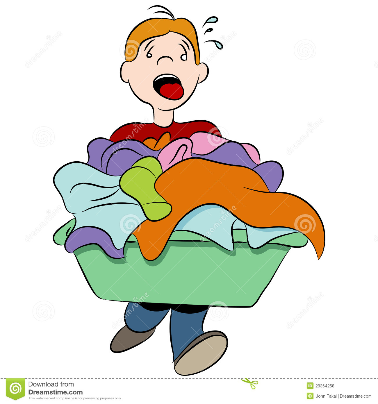 Washing clothes clipart vector library Dirty Clothes Clipart - Clipart Kid vector library