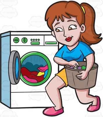 Washing clothes clipart clip free washing Cartoon Clipart clip free