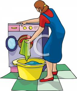 Washing clothes clipart graphic library Washing Clothes Clip Art – Clipart Free Download graphic library