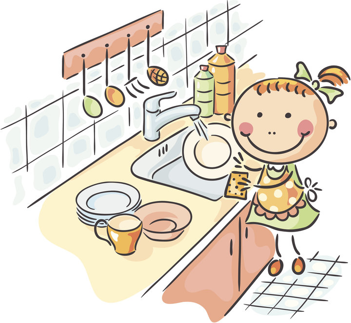 Washing dishes by hand clipart clip library library How Hand-Washing The Dishes Could Make You A Happier Person | The ... clip library library
