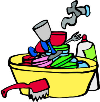 Washing dishes by hand clipart image freeuse library Washing dishes by hand clipart - ClipartFest image freeuse library