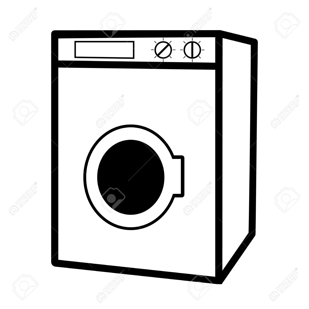 The stanley hotel clipart contact details clip library stock Washing machine clipart black and white 5 » Clipart Station clip library stock