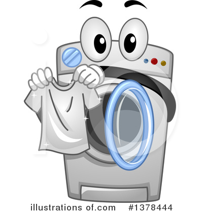 Washing machine clipart free clipart library download Washing Machine Clipart #1378444 - Illustration by BNP ... clipart library download