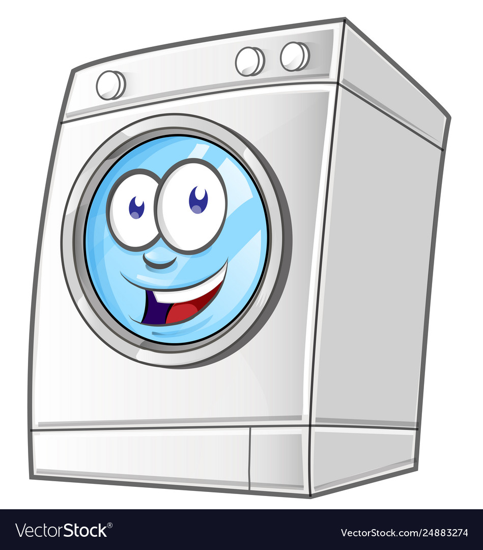 Washing machine clipart free svg transparent Cartoon washing machine clip art with simple svg transparent