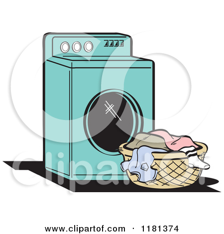 Washing machine clipart images vector transparent library Royalty-Free (RF) Washing Machine Clipart, Illustrations, Vector ... vector transparent library