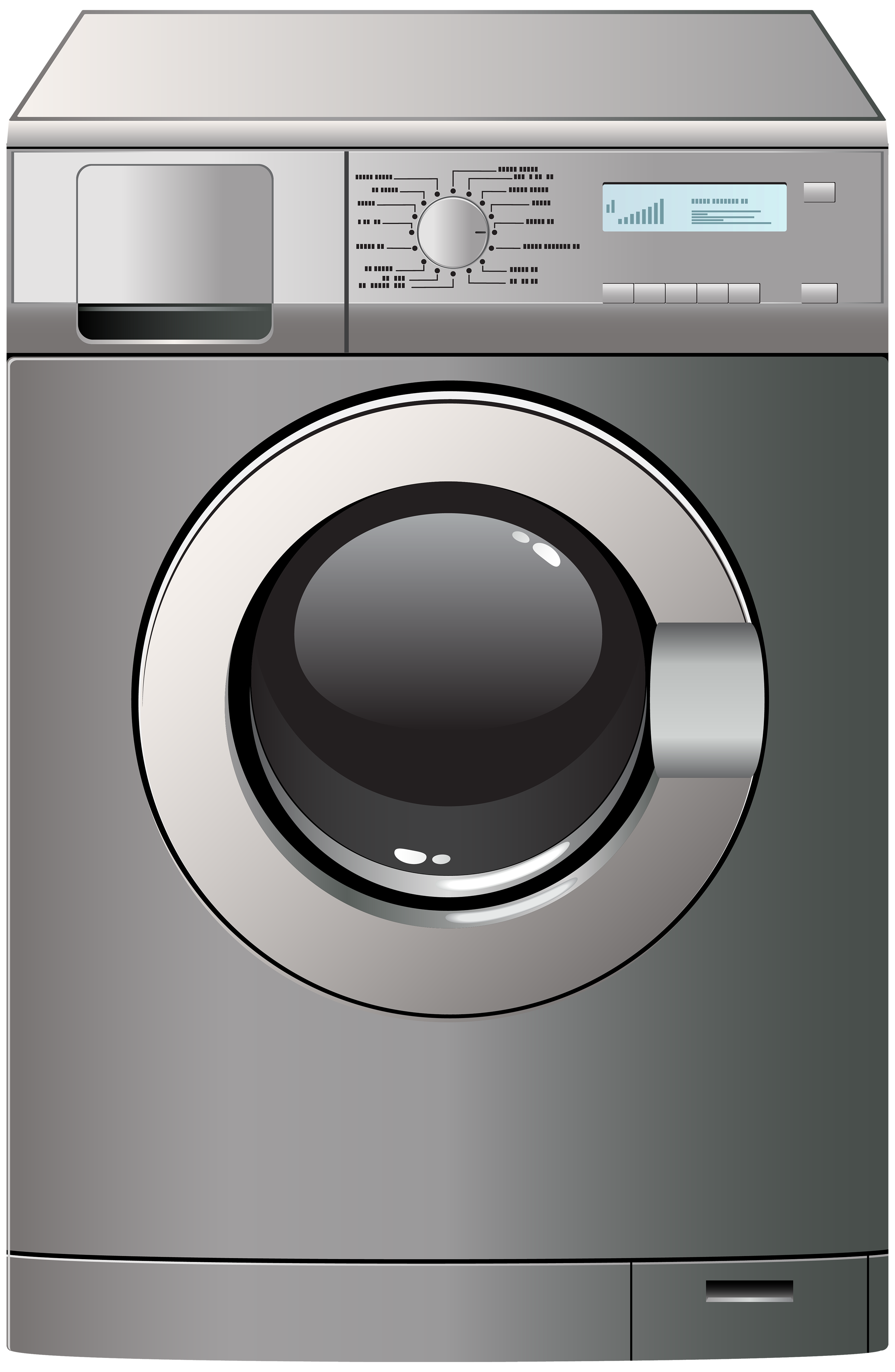 Washing machine clipart images image black and white stock Washing Machine PNG Clipart - Best WEB Clipart image black and white stock