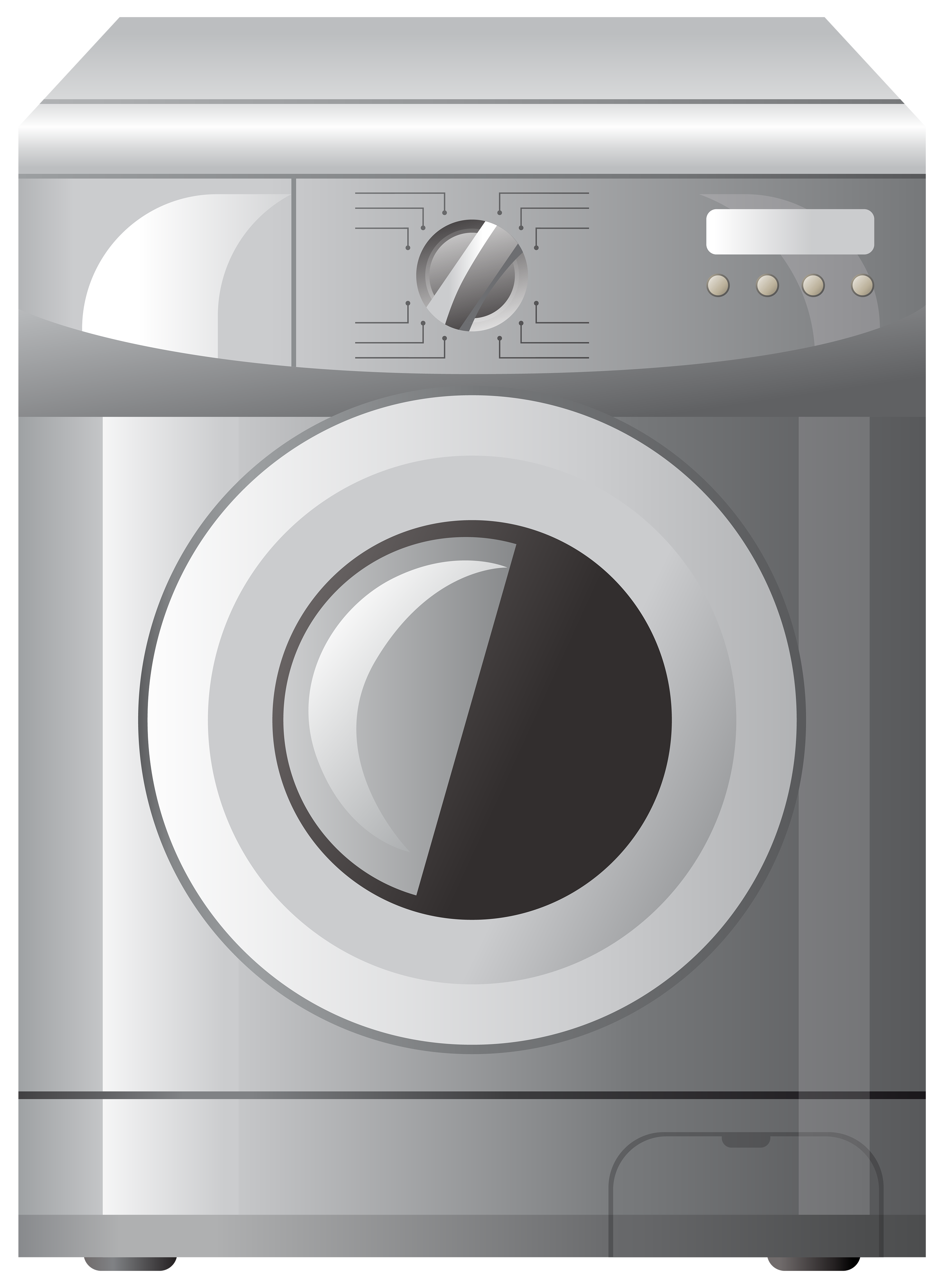 Washing machine clipart png clip art royalty free download Grey Washing Machine PNG Clipart - Best WEB Clipart clip art royalty free download