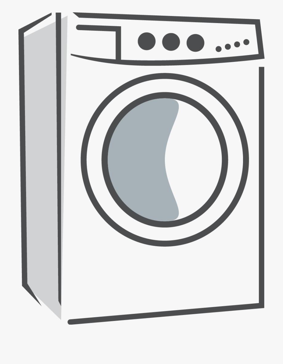 Washing machine clipart png jpg transparent Dryer Clipart Tumble Dryer - Washing Machine Png Icon ... jpg transparent
