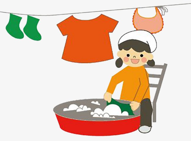 Washing the clothes clipart clipart freeuse download Uses of water for washing clothes clipart 6 » Clipart Portal clipart freeuse download