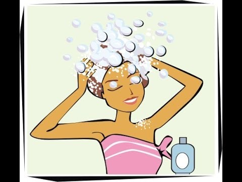 Washing your hair clipart image royalty free download How To Properly Wash Your Hair (less damage and breakage) image royalty free download