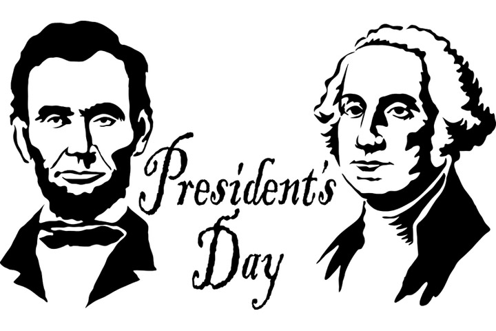 Washington day clipart graphic royalty free library Presidents Day George Washington And Abraham Lincoln Clipart ... graphic royalty free library