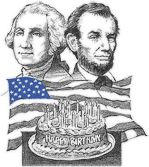 Washington and lincoln free clipart clipart free Free Washington\'s Birthday Cliparts, Download Free Clip Art ... clipart free