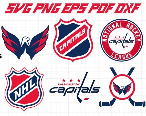Washington capitals logo clipart vector free download Washington Capitals Svg, Capitals Svg, NHL svg, hockey ... vector free download
