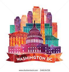 Washington dc monument tshirt clipart svg 11 Best Washington DC Clipart images in 2018 | Washington dc ... svg