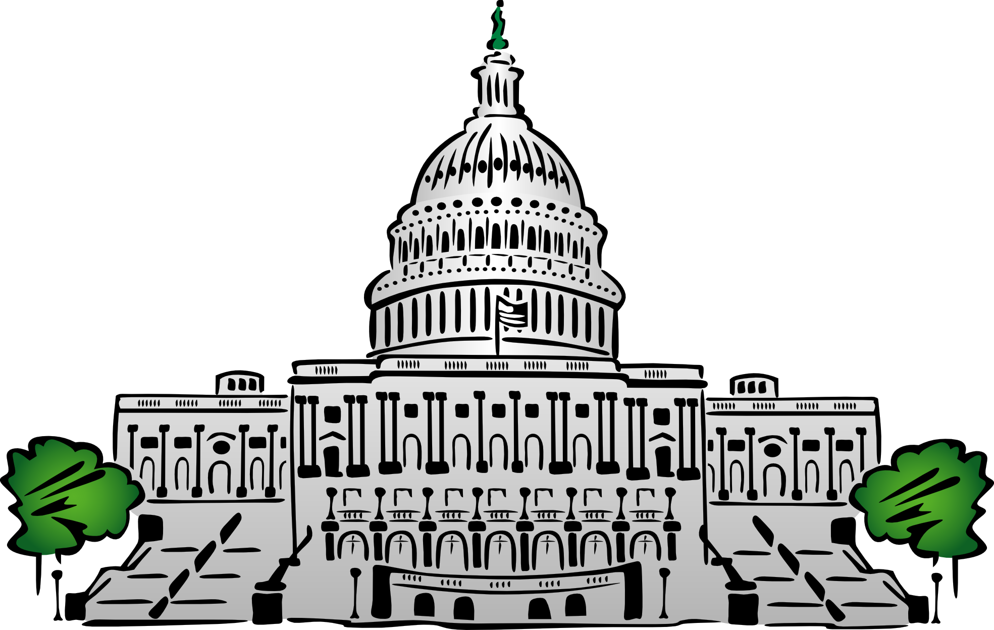 Washington dc white house clipart png freeuse download 28+ Collection of Capitol Building Washington Dc Clipart   High ... png freeuse download