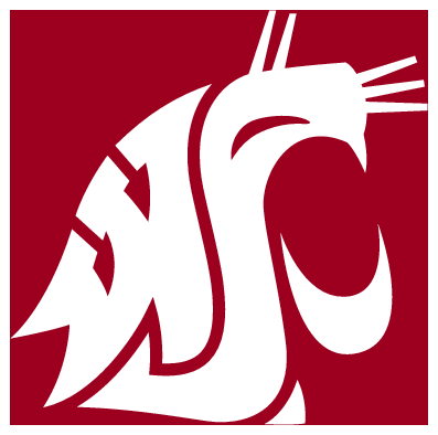Washington logo clipart clip black and white download WSU Logo Clip Art | Home > Logos > Washington State Cougars ... clip black and white download