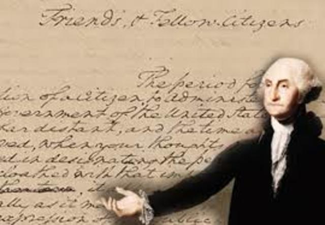 Washington s farewell address clipart jpg black and white stock Chapter 10 - Launching the New Ship of State (1789 - 1800 ... jpg black and white stock