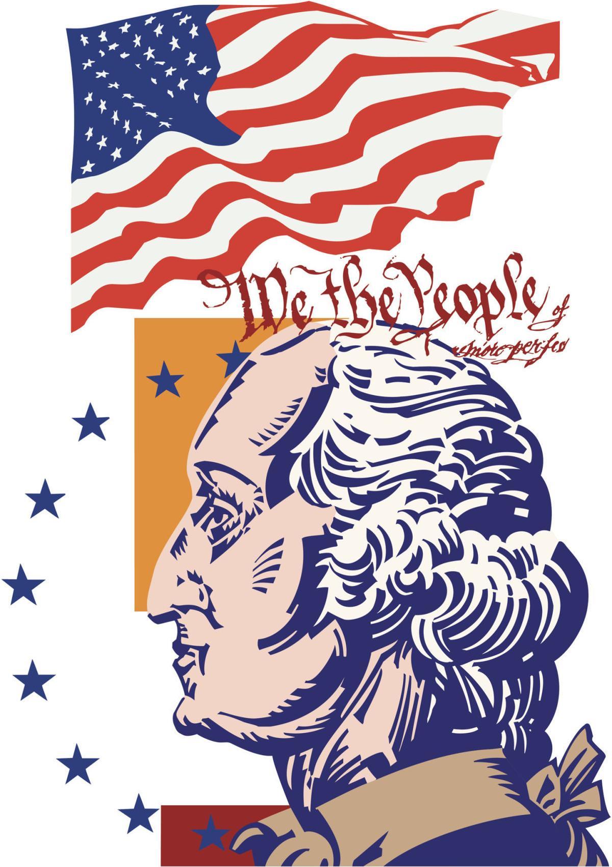 Washington s farewell address clipart clipart freeuse library Robert A. Strong column: The Founding Father and the ... clipart freeuse library