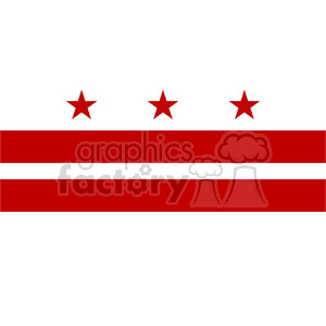 Washington state clipart vector picture black and white download vector state Flag of Washington DC clipart. Royalty-free clipart # 384621 picture black and white download