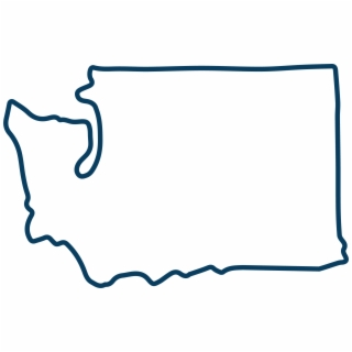 Washington state clipart vector graphic library Washington State Outline PNG, Backgrounds and Vectors Free ... graphic library