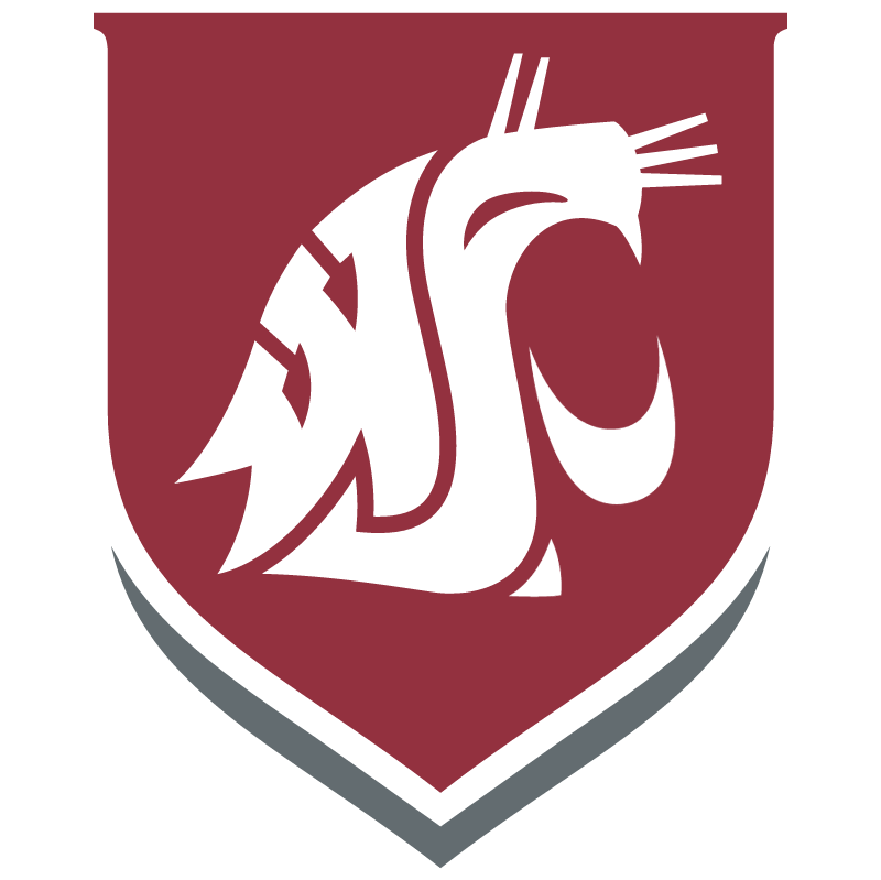 Washington state clipart vector clipart transparent library Washington State Cougars ⋆ Free Vectors, Logos, Icons and ... clipart transparent library