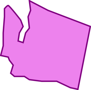 Washington state clipart vector graphic royalty free Washington State Clip Art at Clker.com - vector clip art ... graphic royalty free