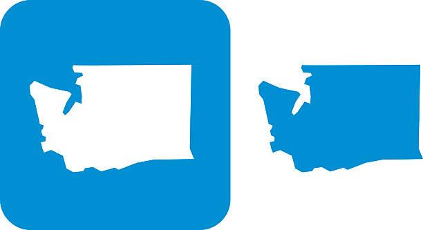 Washington state clipart vector clip art black and white download Royalty Free Washington State Clip Art, Ve #90494 ... clip art black and white download