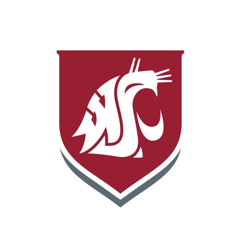 Washington state cougars clipart banner library stock Logos   Brand   Washington State University banner library stock