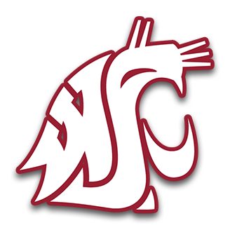 Washington state cougars clipart clipart black and white stock Washington State Football   Bleacher Report   Latest News ... clipart black and white stock