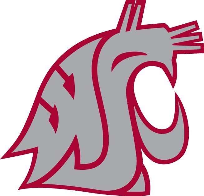 Washington state cougars clipart free stock Washington State Cougars Alternate Logo - NCAA Division I ... free stock